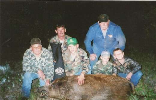 Hog hunting, A family affair