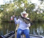 All Smiles, The Lady Caught An Ocklawaha Largemouth