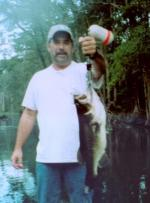 A Six lb bass Ocklawaha River bass