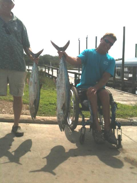 Kingfish Caught Out Of Cedar Key Florida With Hookedup Charters