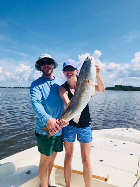 Hamil crew just slaying the Redfish in Cedar Key