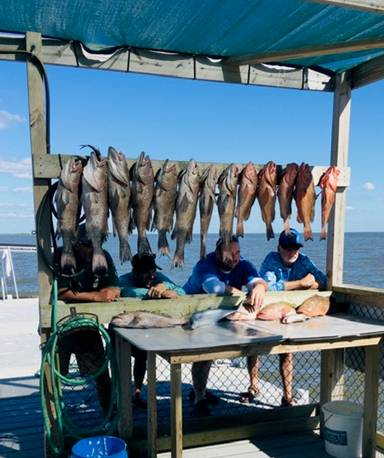 """""""THE"""" Jacksonville crew slaying them on day 2 of an off shore trip with Hookedup Charters"""