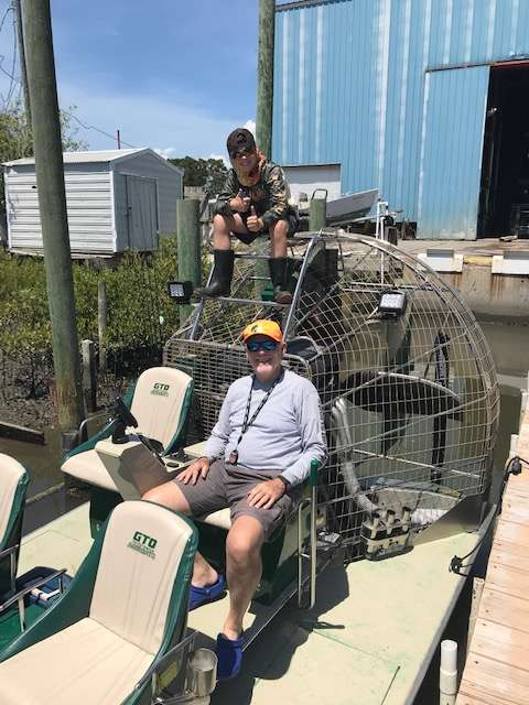 Cedar Key Air Boating