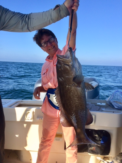 Mrs. Tommy w a whooper gag grouper