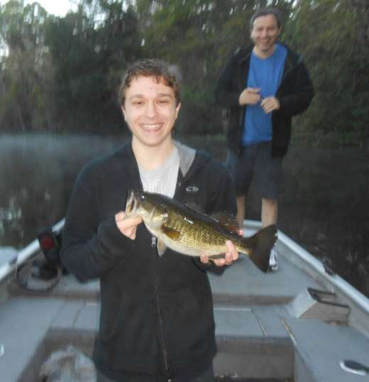 Oklawaha Bass Caught with Slick Charters