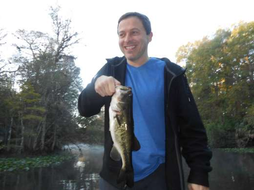 And Another Oklawaha Bass Caught with Slick Charters