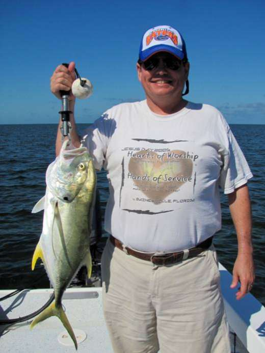 Nice Jack Crevalle Caught In Steinhatchee, Florida