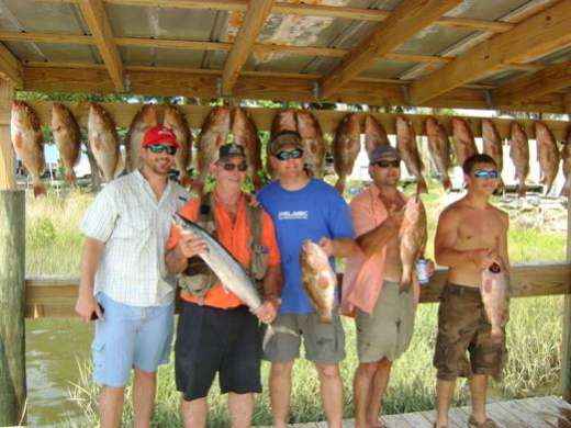 The Guys With Their Catch At Cedar Key Marina