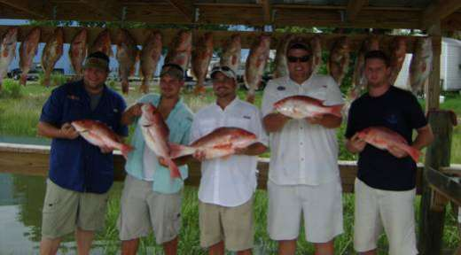 Cedar Key Fishing, The Team & Their Catch