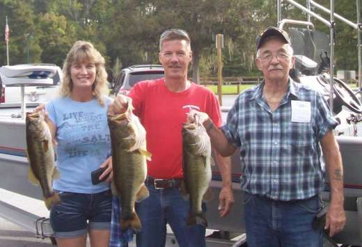 Carico Family With a Fine Example of Our Most Recent Catches