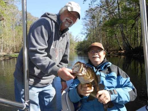 Okalawaha Largemouth Bass To Brag About
