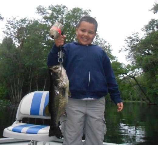 Big Smiles and an Ocklawaha Bass