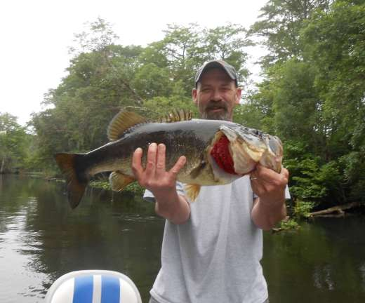 This is the kind of Largemouth You Can Call Mama And Tell Her About