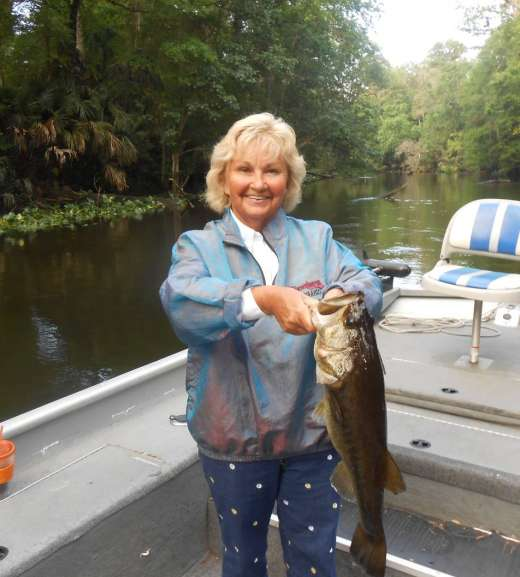 Blonds Catch More Ocklawaha Largemouth