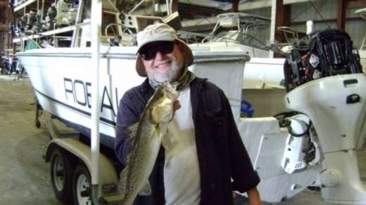 Frank with a nice Cedar Key Speckled Trout