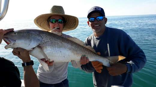 This Lady Can Catch The Bull Redfish In Cedar Key