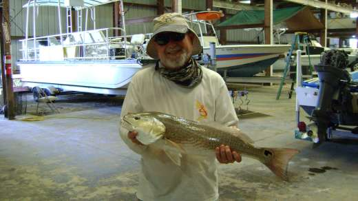 Frank with another nice Redfish