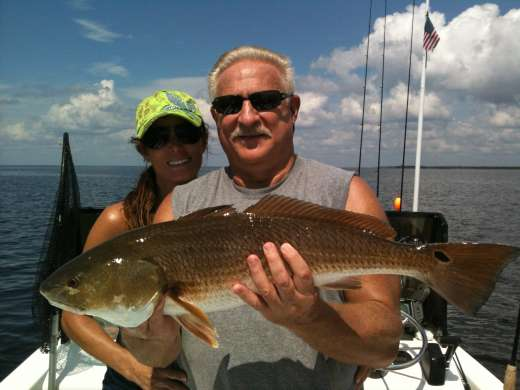 Steinhatchee Redfish, This Is Why You Come To Steinhatchee
