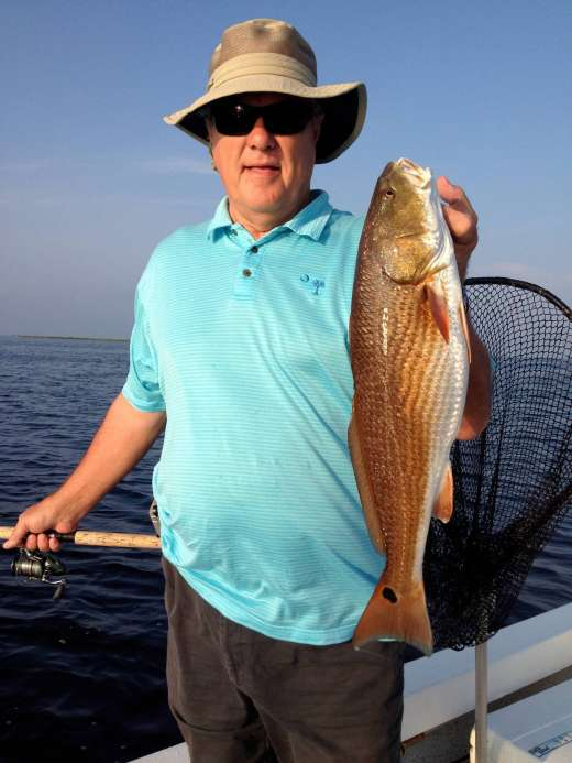 Steinhatchee Redfish Caught with Pepperfish Key Charters