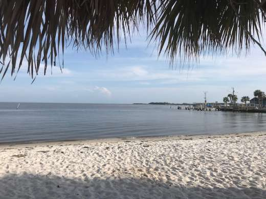 Just another day in Cedar Key's paradise