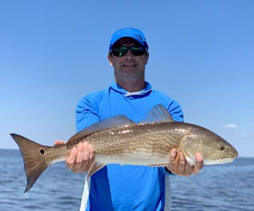Mr W and another of his double 30in Redfish