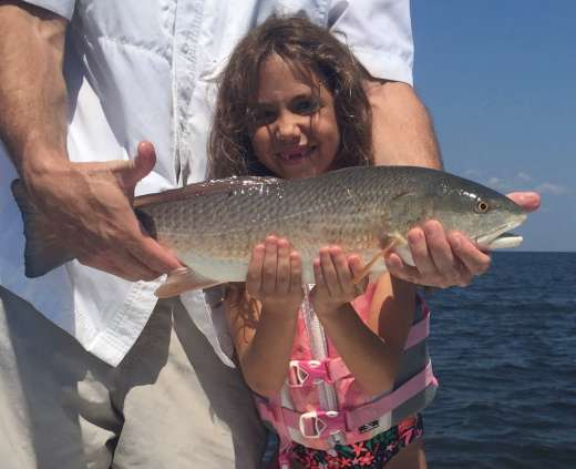 The Girl Can Fish!