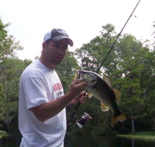 Russ With An Ocklawaha Bass