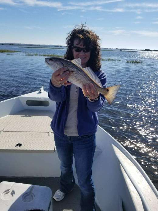 Beautiful Redfish Caught With Captain Kyle Of Hookedup Charters
