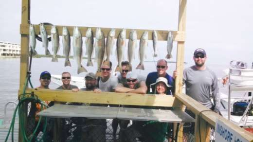 Showing Off Redfish & Speckled Trout An Awesome Day