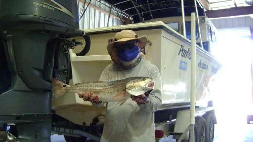 Frank must have a ton of redfish in the freezer