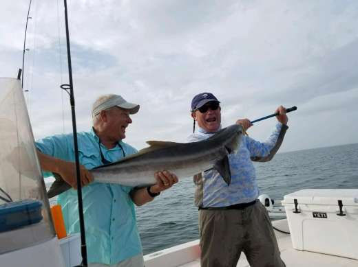 Gary and monster cobia