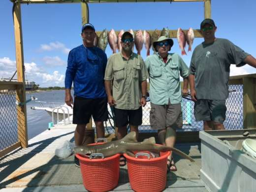 Jason and the Jacksonville crew with a nice catch