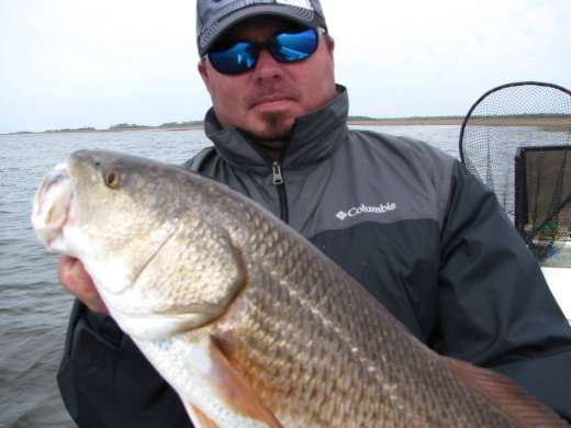 Cool Weather Steinhatchee Redfish