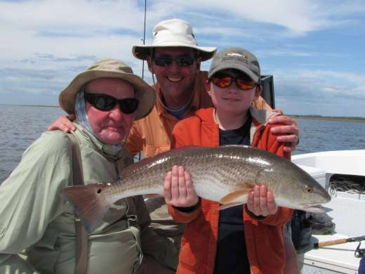 Family and a Steinhatchee Redfish, that's why you go fishing.
