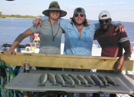 The Holley crew tearing it up w Capt Kyle