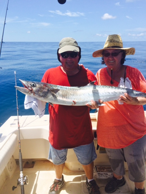 The York's with a nice Cedar Key King Fish