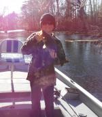 Justin With A Cold Weather Ocklawaha Largemouth