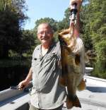 Mr. James Showing Off An Ocklawaha Largemouth