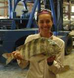 The Mowery Crew with more sheepshead