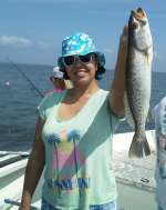 Very Nice Cedar Key Speckled Trout