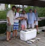 The Beling crew, awesome day w/ capt kyle on Hooked Up Charters inshore boat