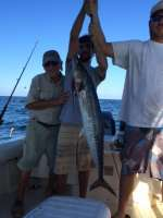 Angel and Son Dominick with his 1st Kingfish