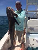 Art Mowery Sr. with nice 36 lbs Cobia