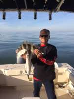 Dave Storm with a nice Cedar Key Sheepshead