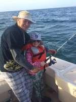 Father & Daughter Having Fun With Captain John