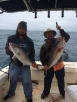 Kelly and Ben kick off AmberJack season with two very nice keepers