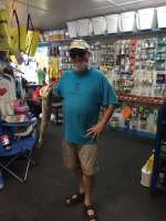 Frank Merillat with a very nice 3 lbs Cedar Key Trout