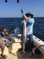 Nunez crew with a whopper Kingfish