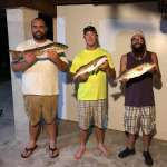 The Cedar Key Marina Crew When They Aren't Working