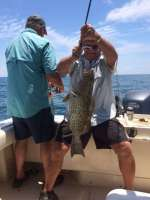 Robert and his Salt Springs crew caught some nice gag grouper